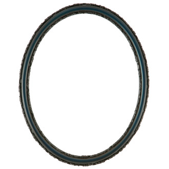 Virginia Oval Frame # 553 - Royal Blue