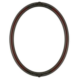 Contessa Oval Frame # 554 - Rosewood