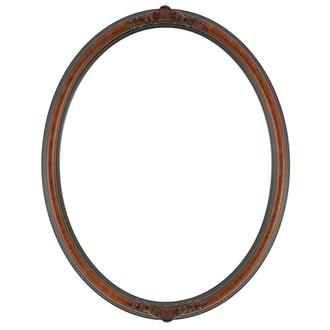 Contessa Oval Frame # 554 - Vintage Cherry