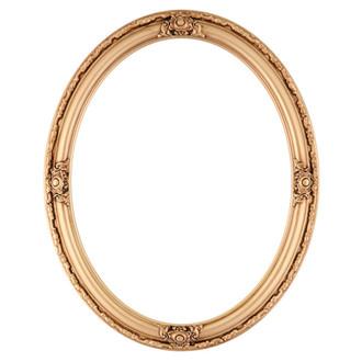Jefferson Oval Frame # 601 - Gold Paint