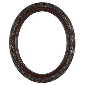 Rome Oval Frame # 602 - Rosewood