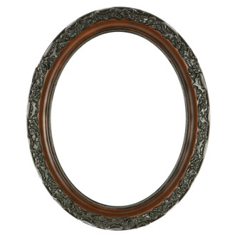 Rome Oval Frame # 602 - Walnut