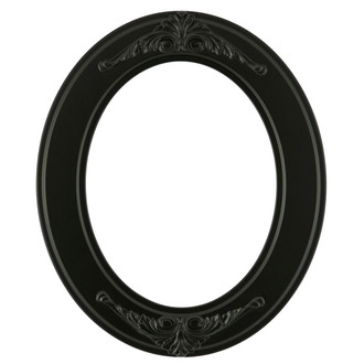 Ramino Oval Frame # 831 - Matte Black