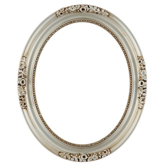 Versailles Oval Frame # 603 - Silver
