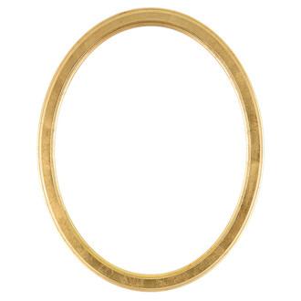 Toronto Oval Frame # 810 - Gold Leaf