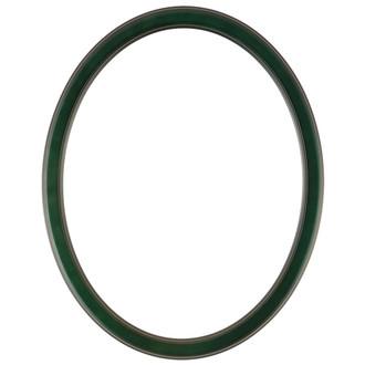 Toronto Oval Frame # 810 - Hunter Green