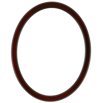 Toronto Oval Frame # 810 - Rosewood