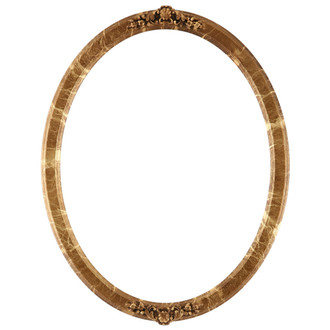 Athena Oval Frame # 811 - Champagne Gold