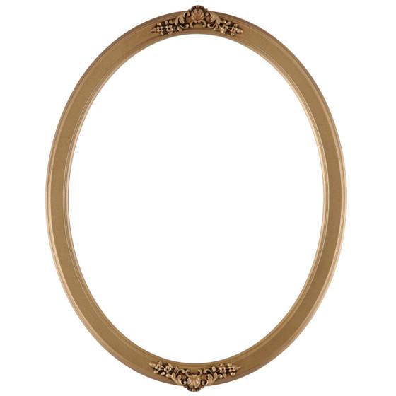 Athena Oval Frame # 811 - Desert Gold