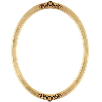 Athena Oval Frame # 811 - Gold Leaf