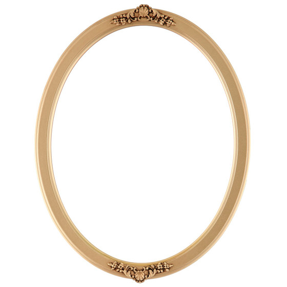 Athena Oval Frame # 811 - Gold Spray