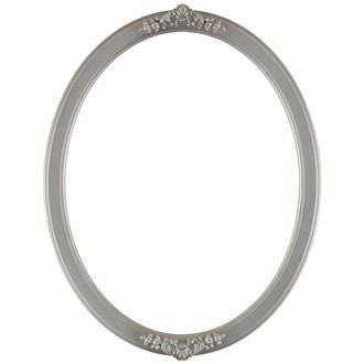 Athena Oval Frame # 811 - Silver Shade