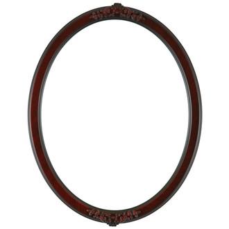 Athena Oval Frame # 811 - Vintage Cherry
