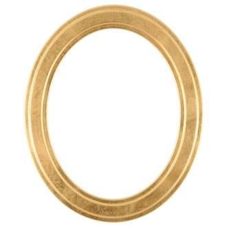 Wright Oval Frame # 820 - Gold Leaf