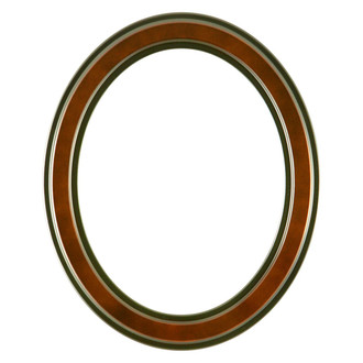 Wright Oval Frame # 820 - Rosewood