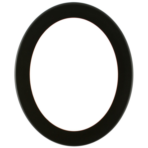 Oval Frame in Rubbed Black Finish| Weathered Black Picture Frames ...