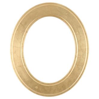 Montreal Oval Frame # 830 - Gold Leaf