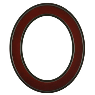 Montreal Oval Frame # 830 - Rosewood