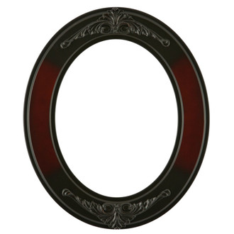 Ramino Oval Frame # 831 - Rosewood