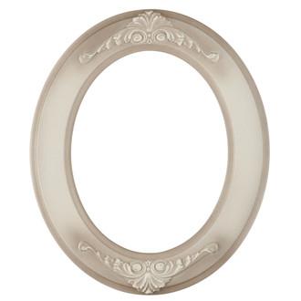 Ramino Oval Frame # 831 - Taupe