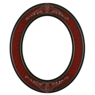 Ramino Oval Frame # 831 - Vintage Cherry