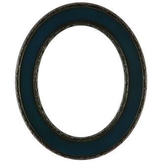 Paris Oval Frame # 832 - Royal Blue