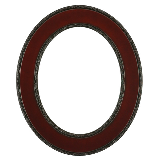 Paris Oval Frame # 832 - Rosewood