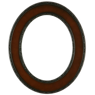 Paris Oval Frame # 832 - Walnut