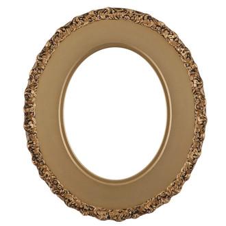 Williamsburg Oval Frame # 844 - Desert Gold