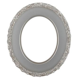 Williamsburg Oval Frame # 844 - Silver Shade