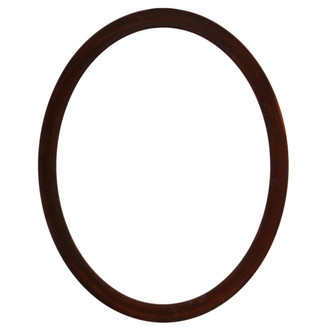 Manhattan Oval Frame # 851 - Mocha