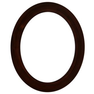 Soho Oval Frame # 852 - Mocha