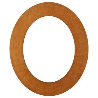 Ashland Oval Frame # 853 - Burnished Gold
