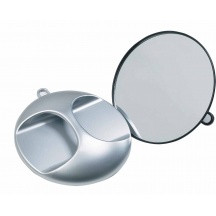 Fortress Back Mirror-Silver