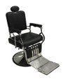 Brooklyn Barbers Chair-black upholstery