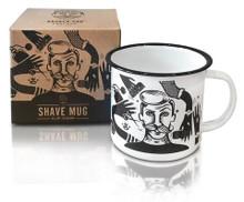 Barber Pro Shave Mug-Clip N Snip