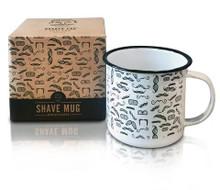 Barber Pro Shave Mug-Moustaches