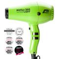 Parlux 385 Powerlight Ceramic & Ionic Dryer 2150W - Green
