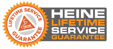Heine Lifetime guarantee