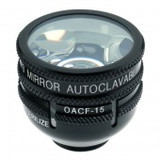 Ocular OG3MAC-15 Autoclavable Three Mirror 10MM Lens With 15MM Flange