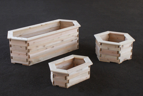 Hexagon Planter Boxes