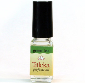 Triloka Perfume Oil - Green Tea