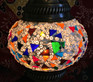 Turkish Mosaic Lantern Gooseneck - Multicolor