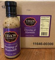Ida's Gourmet Mediterranean Dressing and Marinade
