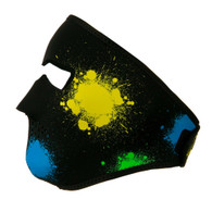 Glow in the Dark Splatter Ski Mask