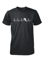 Skiing Heartbeat shirt