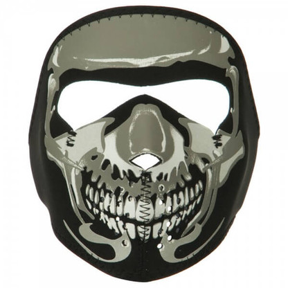 Youth Skull Neoprene Face Mask