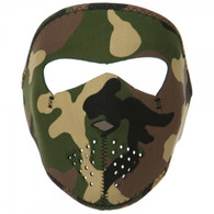 Youth Camo Neoprene Ski Mask