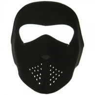Youth Black Neoprene Ski Mask