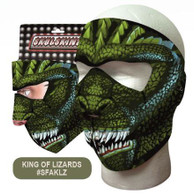 King of Lizards Ski Mask